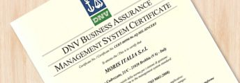 1996<br><strong>Certificazione ISO</strong>