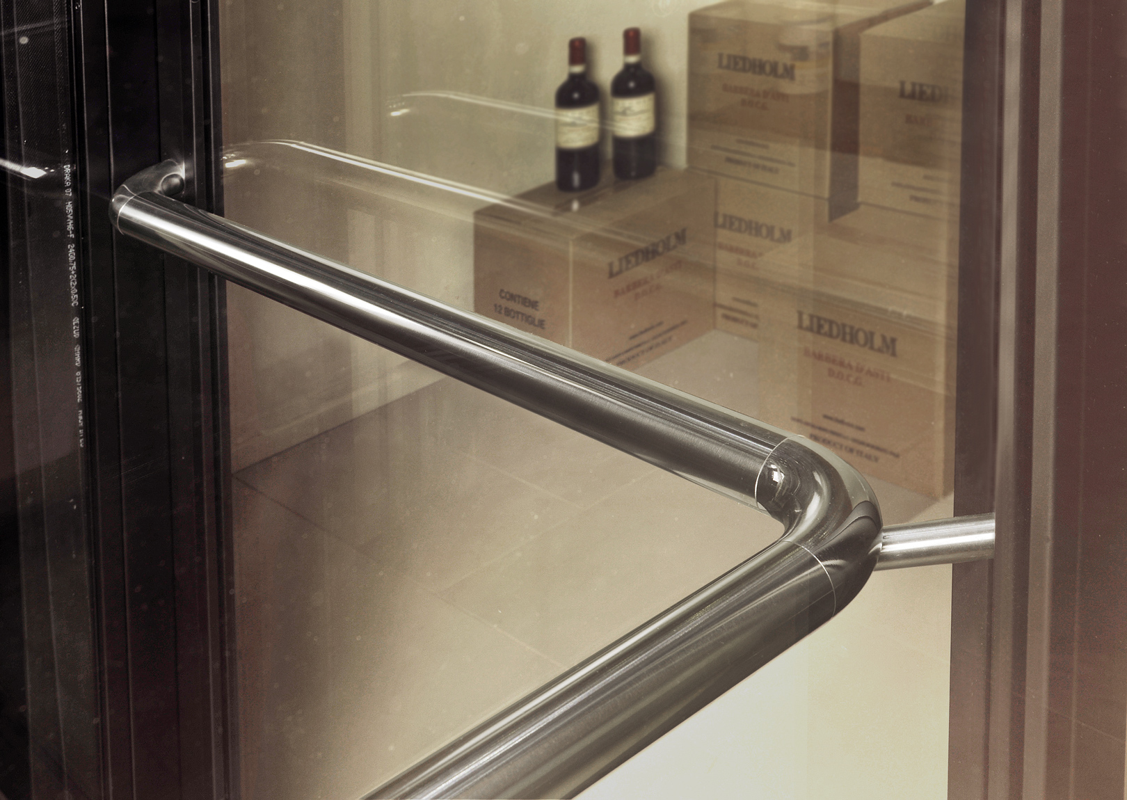 Special handrail inox
