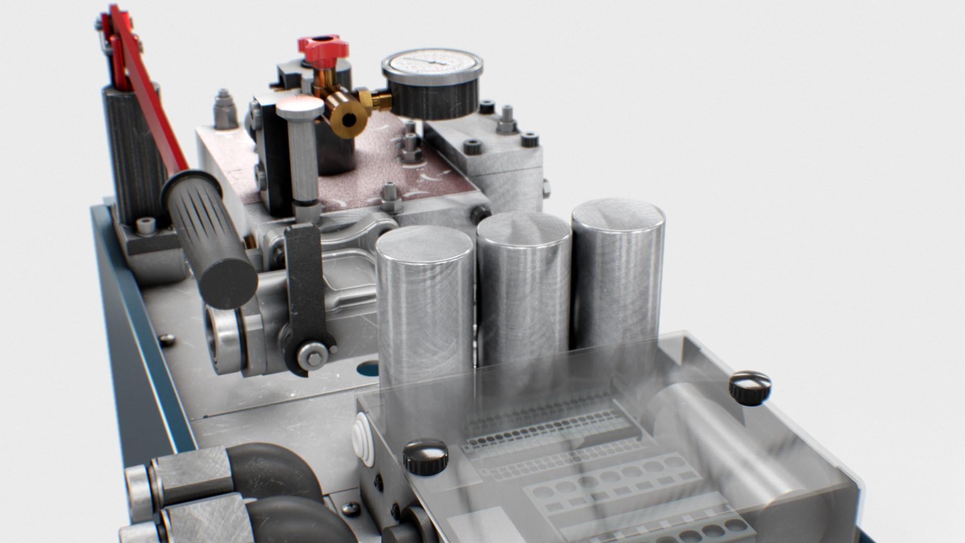 CM320R-MARK2 - Hydraulic unit