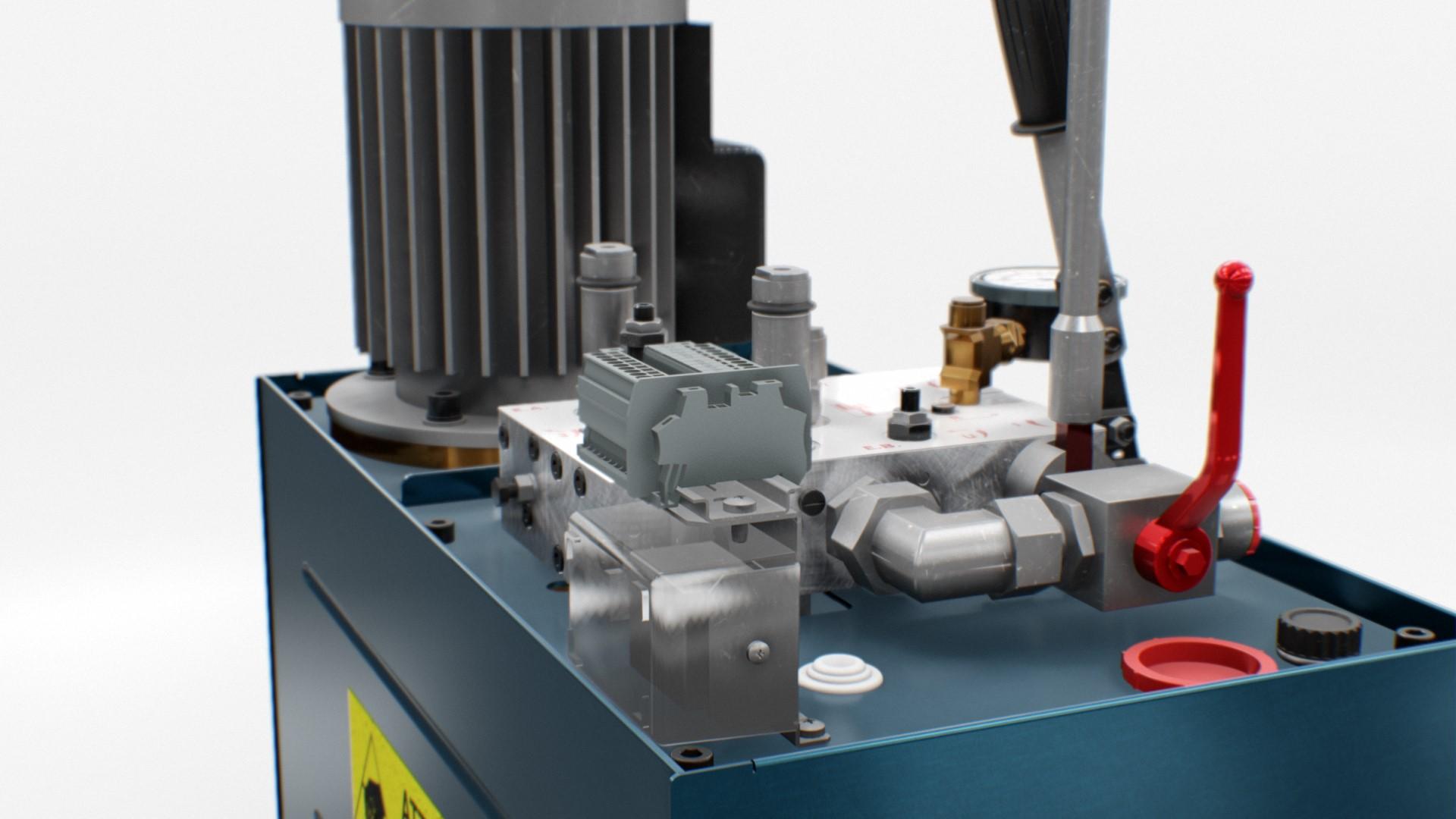 HL-300 - Hydraulic unit