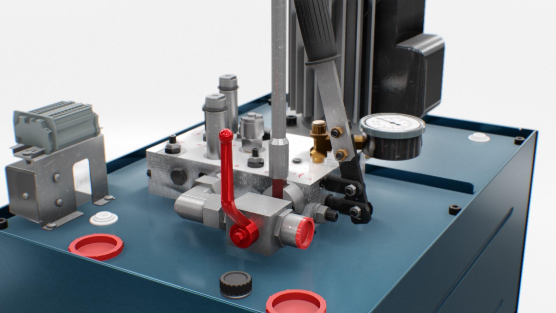 HL-420 - Hydraulic unit