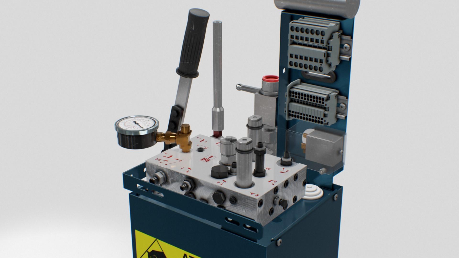 HL-MTW - Hydraulic unit
