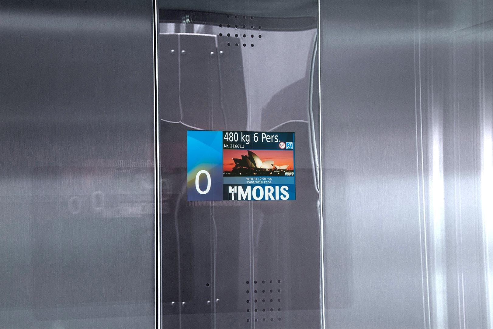 Moris gallery - complete installation
